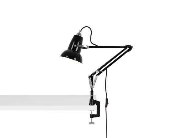 Original 1227 Mini bureau klemlamp Jet Black 1