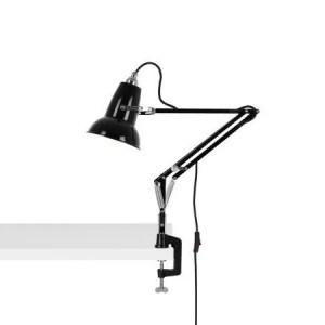 Original 1227 Mini bureau klemlamp Jet Black 1