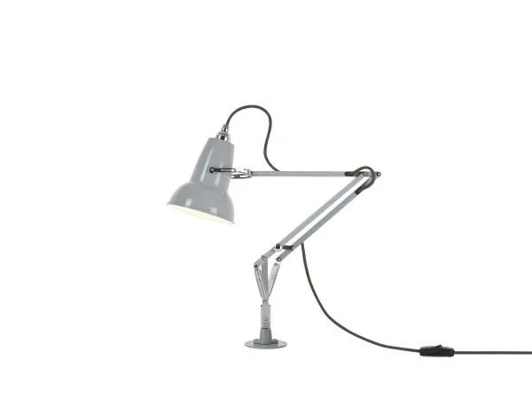 Original 1227 Mini bureaulamp met vaste bevestiging Dove Grey 1 Insert