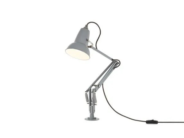 Original 1227 Mini bureau lamp met vaste bevestiging Dove Grey 3 Insert