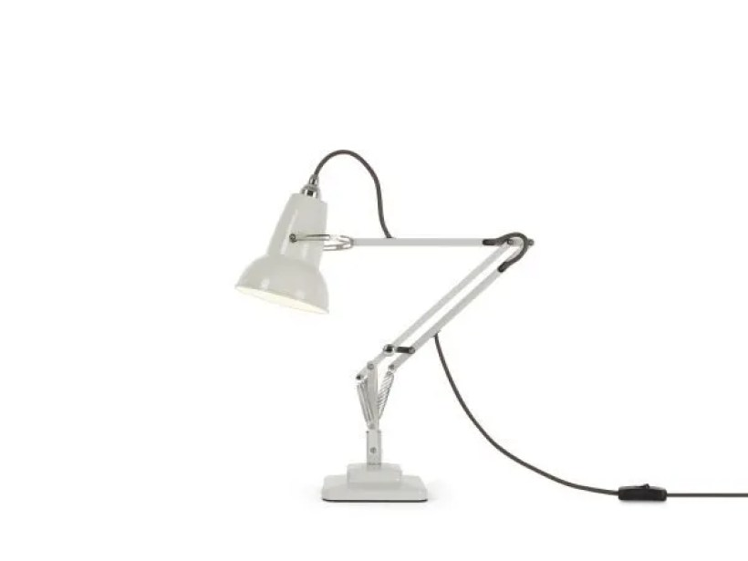 Original 1227 Mini bureaulamp Linen White 1 BINK