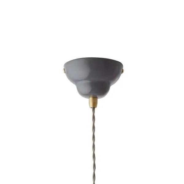 Original 1227 messing hanglamp anglepoise Elephant Grey 2