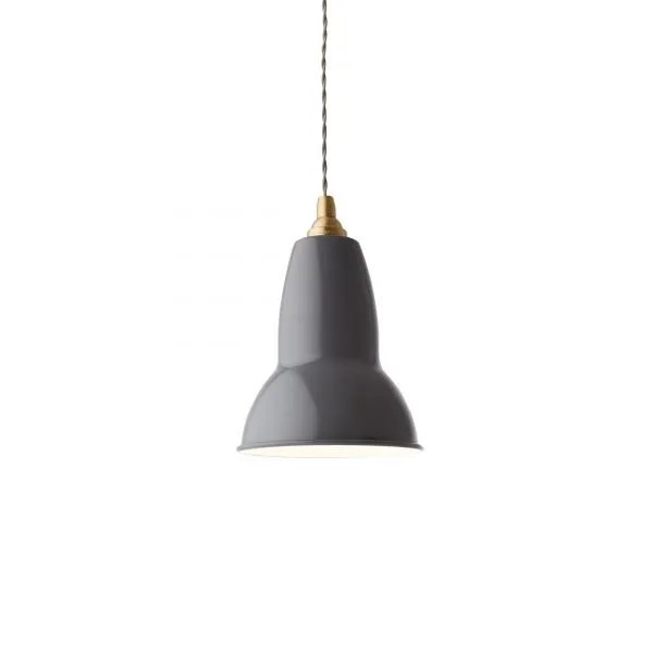 Original 1227 messsing hanglamp anglepoise Elephant Grey 4