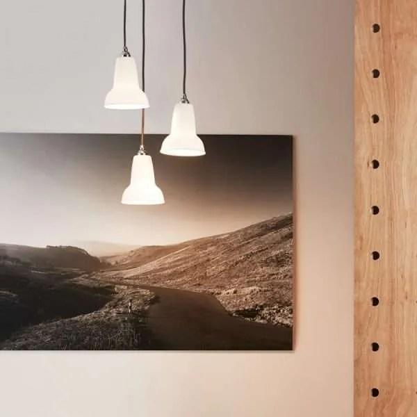 Original ceramic anglepoise hanglampen BINK lampen 4