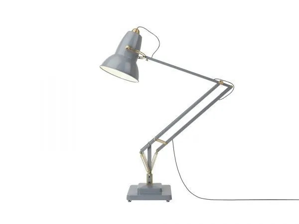 Original-1227-koperen anglepoise-Giant-vloerlamp Elephant Grey 2