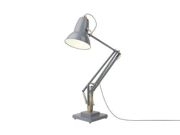 Original-1227-koperen anglepoise-Giant-vloerlamp Elephant Grey 3