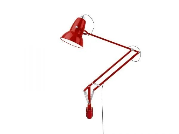 Original 1227 Giant Wall Mounted Lamp Crimson Red 2