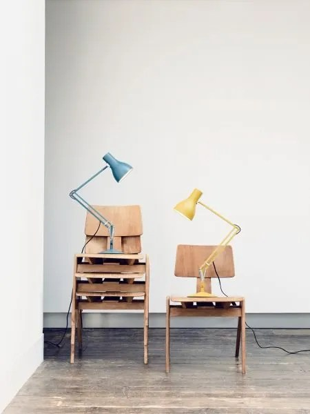 Anglepoise + Margaret Howell - Saxon Blue & Yellow Ochre