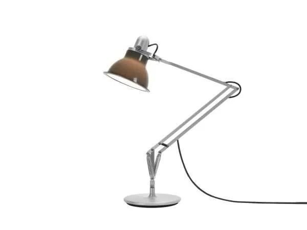 Anglepoise type 1228 Bureaulamp - Granite Grey 2 On