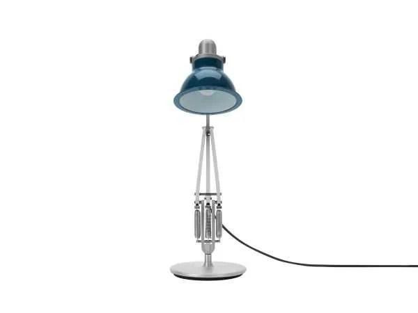 Anglepoise type 1228 Bureaulamp - Ocean Blue 4 Off