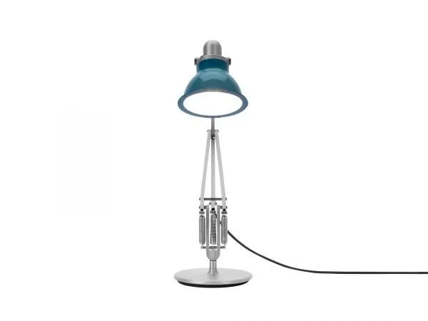 Anglepoise type 1228 Bureaulamp - Ocean Blue 4 On