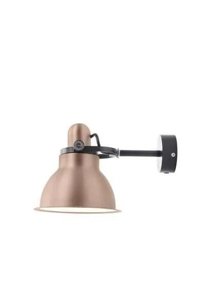 Anglepoise type 1228 Metallic wandlamp spot Copper Lustre 1
