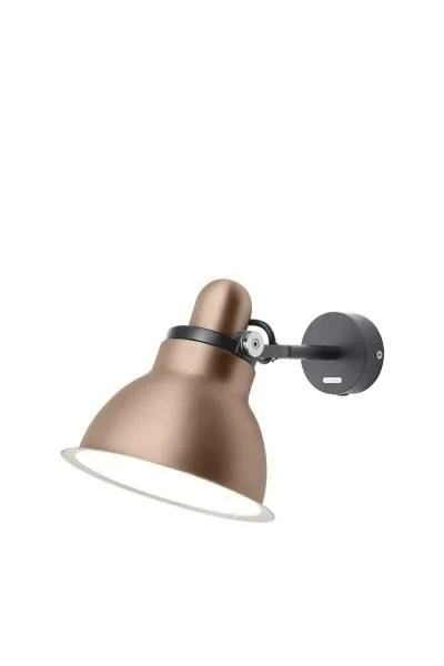Anglepoise type 1228 Metallic wandlamp spot Copper Lustre 2