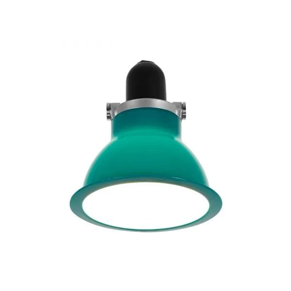 Anglepoise type 1228 Wandlamp spot Mid Green 3 On
