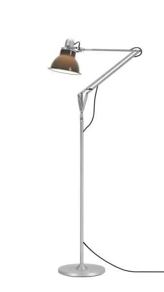 Anglepoise type 1228 vloerlamp Granite Grey 1 On