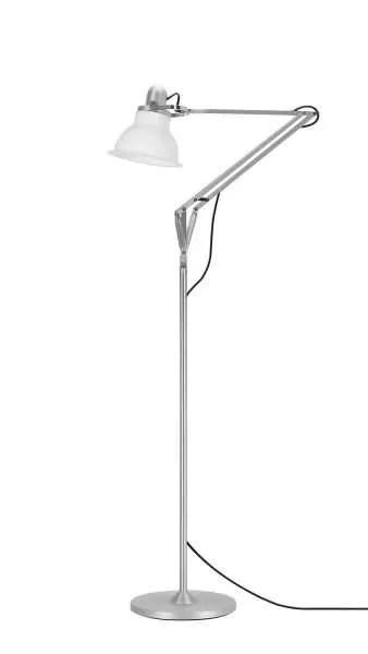 Anglepoise type 1228 vloerlamp Ice White 1 Off