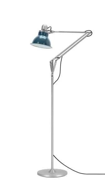 Anglepoise type 1228 vloerlamp Ocean Blue 1 Off