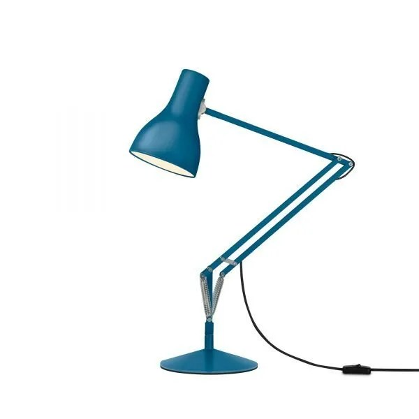 Anglepoise type 75 Desk Lamp - Saxon Blue 1