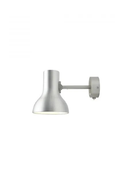Anglepoise type 75 Mini wandlamp Brushed Aluminium 1