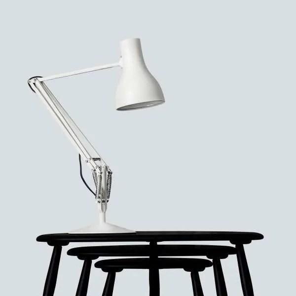 Anglepoise type 75 bureaulamp - Jasmine White