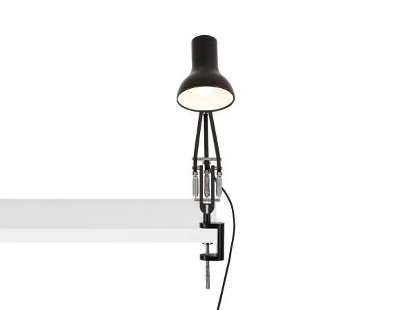 Anglepoise type 75 mini klemlamp Jet Black 4