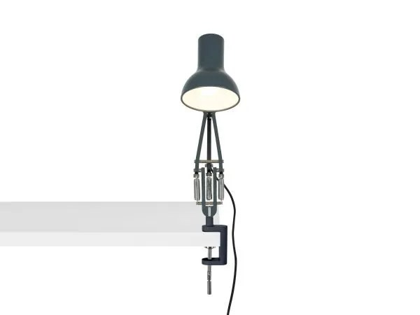 Anglepoise type 75 mini klemlamp Slate Grey 4
