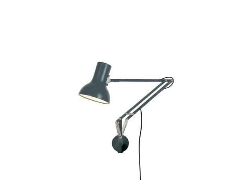 Anglepoise type 75 mini wandlamp Slate Grey 1