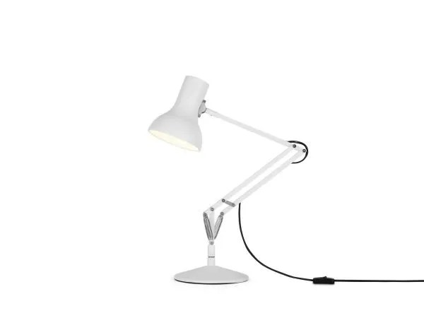 Anglepoise type 75 MIni bureaulamp Alpine White 2