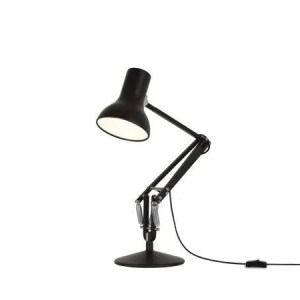 Anglepoise type 75 MIni bureaulamp Jet Black 3