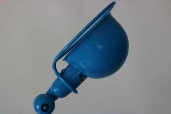 Jielde loft de standaard blauw 1 arm detail1