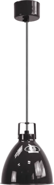 Jielde-Augustin-A160-Hanglamp-Zwart-RAL-9011