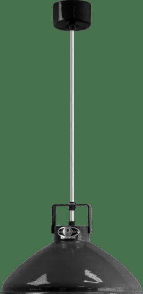 Jielde-Beaumont-B240-Hanglamp-Zwart-Hamerslag