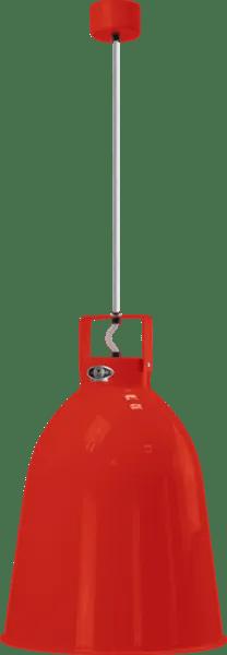Jielde-Clement-C360-Hanglamp-Rood-RAL-3020