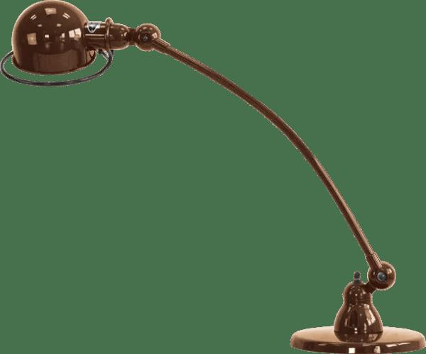 Jielde-Loft-C6000-bureaulamp-Koper-Hamerslag