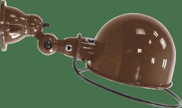 Jielde-Loft-D1020-muurlamp-plafondlamp-Chocolade-RAL-8017