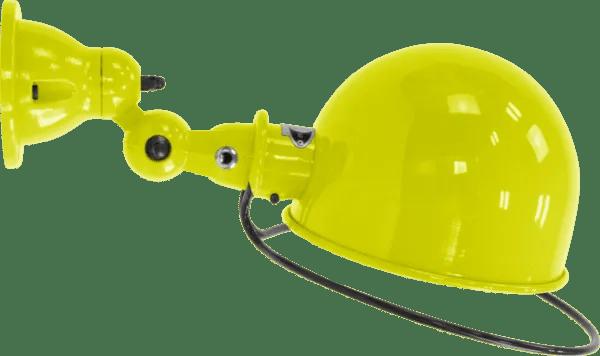 Jielde-Loft-D1020-muurlamp-plafondlamp-Geel-RAL-1016