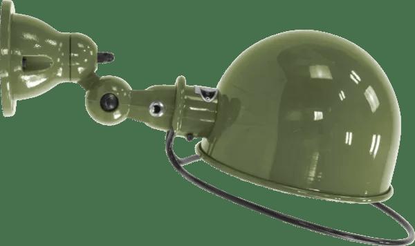Jielde-Loft-D1020-muurlamp-plafondlamp-Olijf-Groen-RAL-6003
