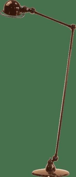 Jielde-Loft-D1240-vloerlamp-Koper-Hamerslag
