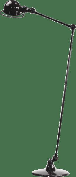 Jielde-Loft-D1240-vloerlamp-Zwart-RAL-9011