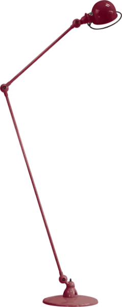 Jielde-Loft-D1260-vloerlamp-Bourgondisch-RAL-3005