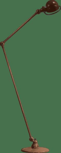 Jielde-Loft-D1260-vloerlamp-Koper-Hamerslag
