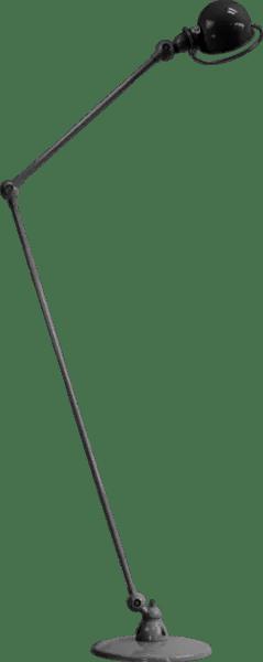 Jielde-Loft-D1260-vloerlamp-Zwart-Hamerslag