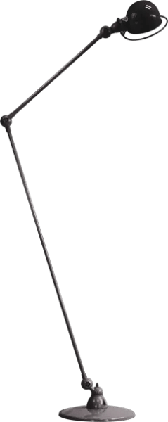 Jielde-Loft-D1260-vloerlamp-Zwart-RAL-9011