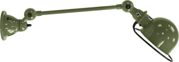 Jielde-Loft-D4001-muurlamp-plafondlamp-Olijf-Groen-RAL-6003