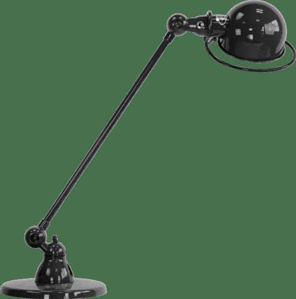 Jielde-Loft-D6000-bureaulamp-Zwart-Hamerslag