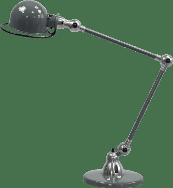 Jielde-Loft-D6440-bureaulamp-duo-Grijs-RAL-7026