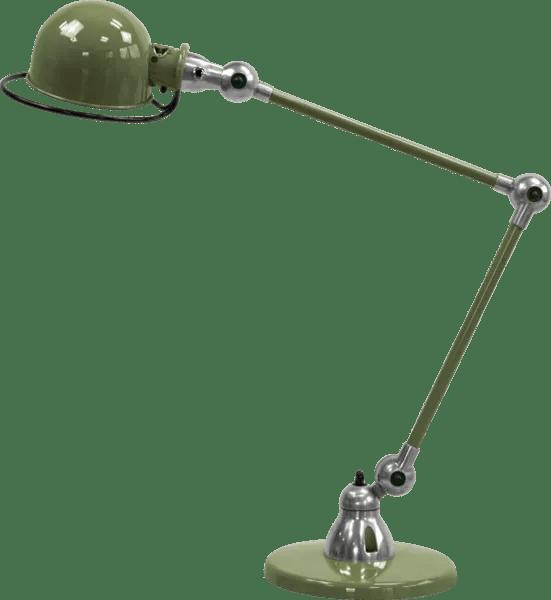 Jielde-Loft-D6440-bureaulamp-duo-Olijf-Groen-RAL-6003