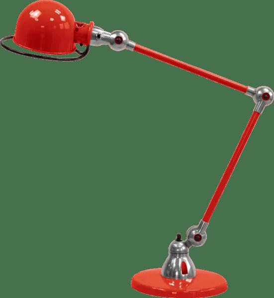 Jielde-Loft-D6440-bureaulamp-duo-Rood-RAL-3020