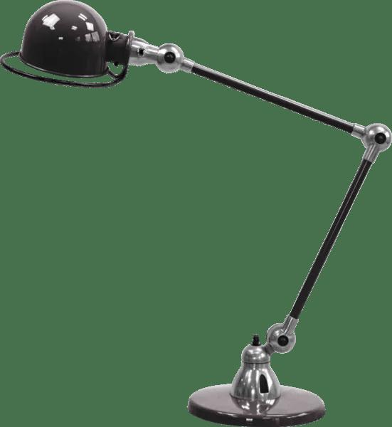 Jielde-Loft-D6440-bureaulamp-duo-Zwart-RAL-9011