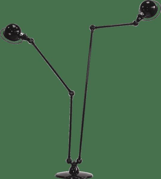 Jielde-Loft-D7460-vloerlamp-Zwart-RAL-9011